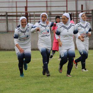 خمام - گلزنی سارا قمی مقابل زاگرس شیراز / قمی در جایگاه دومین گلزن برتر لیگ فوتبال بانوان ایستاد