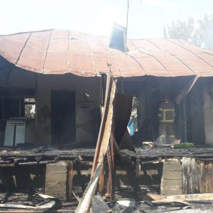 خمام - یک باب منزل ویلایی در فشتکه اول دچار آتشسوزی شد