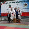 نایبقهرمانی جلیل غیاثی در رقابتهای قهرمانی جودوی پیشکسوتان کشور