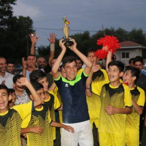 خمام - نمایندهی تیسیه در ششمین دوره از مسابقات فوتسال چمنی به قهرمانی رسید