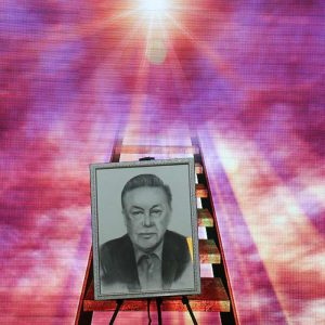 خمام - از مزایده خیریه تابلوی نقاشی دکتر امین چمساز تا نامگذاری سالن اجتماعات کانون به نام وی