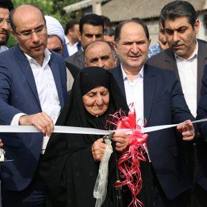 خمام - افتتاح ۶۰ پروژه عمرانی در هفتهی دولت