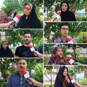 خمام - مشکلات خیابان حافظ، از زبان شهروندان