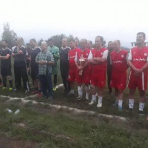 خمام - قهرمانی پیشکسوتان سپیدرود در رقابتهای چهارجانبه فوتبال پیشکسوتان صومعهسرا