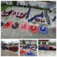کسب رتبه اول کشوری دانشآموزان دبستان شهید رحمت ملایی در سرود همگانی
