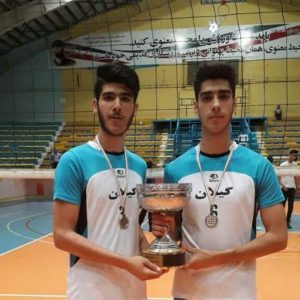 خمام - تیم والیبال جوانان گیلان در رقابتهای لیگ دسته دوم کشور به نایبقهرمانی دست یافت