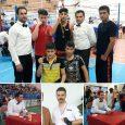 درخشش رزمیکاران خمامی در رقابتهای قهرمانی کیک بوکسینگ استان گیلان