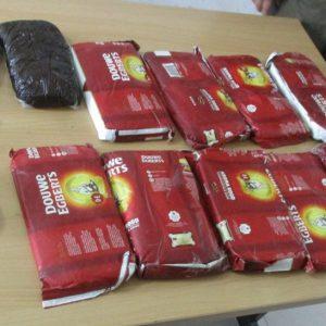 خمام - ۱۱ کیلوگرم ماده مخدر حشیش در خمام کشف و ضبط شد / متهم ۳۱ ساله دستگیر شد