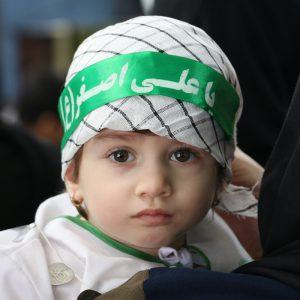 خمام - همایش شیرخوارگان حسینی در خمام برگزار شد