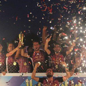 خمام - تیم شهید فانی بار دیگر جام قهرمانی را تصاحب کرد