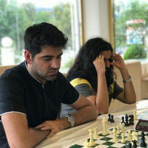 خمام - قهرمانی امیررضا پوررمضانعلی در رقابتهای شطرنج سریع رامسر