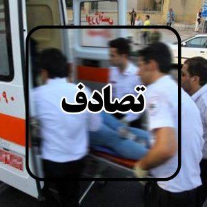 خمام - ۱ کشته و ۲ مجروح در حادثه برخورد پژو ۴۰۵ با عابر پیاده