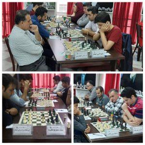 خمام - دومین پیروزی تیم شهرداری خمام در رقابتهای لیگ برتر شطرنج گیلان