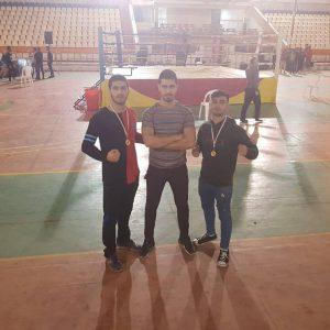 خمام - رزمیکاران خمامی در رقابتهای کیکبوکسینگ گیلان به ۲ مدال طلا دست یافتند