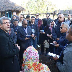 خمام - نمایندگان ۱۴ کشور عضو سیرداپ در مرزدشت، دهنهسر شیجان و فشتکه اول حضور یافتند