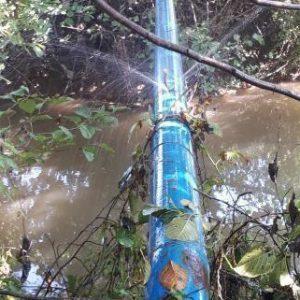 خمام - هدر رفت چندماهه آب در روستای زیرده
