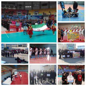خمام - نایبقهرمانی تیم والیبال بانوان گیلان در رقابتهای ورزشی روستاییان و عشایر منطقه ۳ کشور