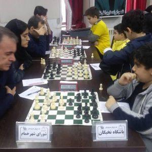 خمام - یک تساوی و یک شکست، حاصل کار تیمهای خمامی در لیگهای برتر و دسته اول شطرنج گیلان