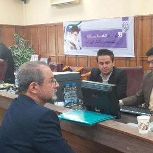 خمام - رضا بهشتی از خمام برای شرکت در انتخابات مجلس نامنویسی کرد