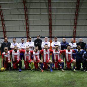 خمام - تیم فوتبال پیشکسوتان ملوان مقابل گیلانگستر خمام به برتری رسید