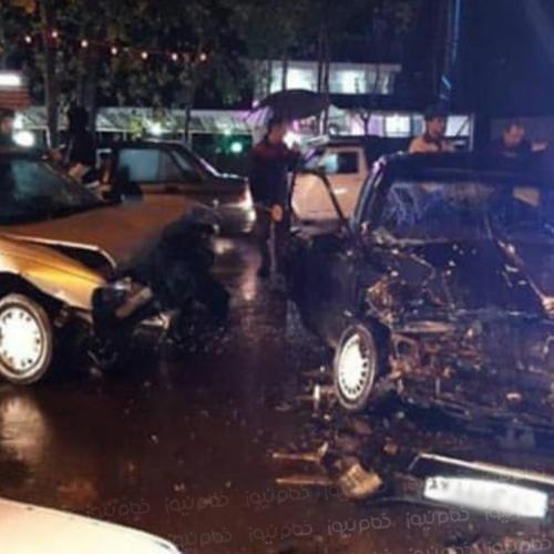 ۱۱ نفر در جریان وقوع ۳ تصادف مصدوم شدند