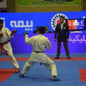 خمام - از علیرضا نوروزی برای قضاوت در لیگ برتر کاراته دعوت شد