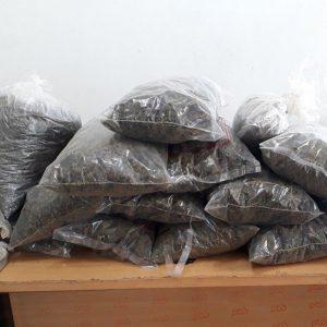 خمام - کشف و ضبط ۱۴ کیلوگرم ماده مخدر از نوع گراس در دهستان کتهسر