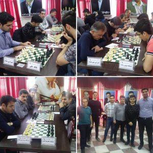 خمام - شهرداری خمام مقابل تیم صدرنشین لیگ برتر شطرنج گیلان به تساوی رسید