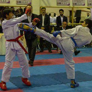 خمام - امیرحسین شعلهریز مقام اول رقابتهای کاراته گیلان را تصاحب کرد