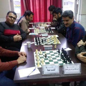 خمام - دیدار لیگهای برتر و دسته اول شطرنج گیلان با ۲ شکست و ۱ تساوی خاتمه یافت