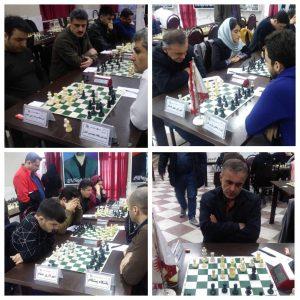 خمام - دیدار لیگهای برتر و دسته اول شطرنج گیلان با ۱ پیروزی، ۱ تساوی و ۱ شکست پایانیافت