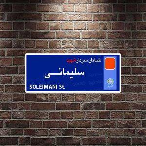 خمام - عضو شورا خواستار نامگذاری یک خیابان بهنام سردار سلیمانی و جانمایی تمثال اینشهید شد