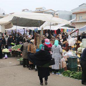 خمام - بازار هفتگی خمام اینهفته دایر نمیشود