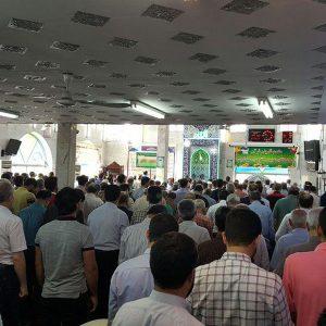 خمام - مسجد جامع برای حضور نمازگزاران ضدعفونی میشود