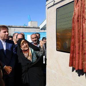 خمام - پروژه آبرسانی روستایی «مجتمع بیج» افتتاح شد