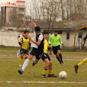 خمام - نونهالان شهرداری خمام با نتیجه ۱ بر ۰ تیم ایرانمهر رشت را پشتسر گذاشت