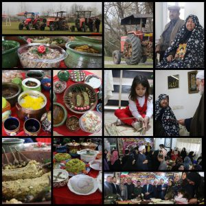 خمام - از رژه تراکتورها تا برگزاری جشنواره غذاهای محلی و دیدار با مادر شهید