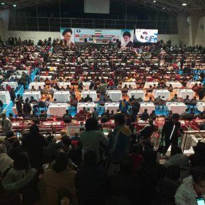 خمام - رقابت حدود ۹۰۰ شطرنجباز در مسابقات بینالمللی کاسپینکاپ