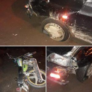 خمام - تصادف موتورسیکلت و پراید ۱ مصدوم برجای گذاشت