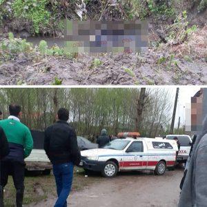 خمام - راننده آژانس در نهر آب به قتل رسید / ۱ کشته و ۲ مصدوم در تصادف با خودروی سرقتی