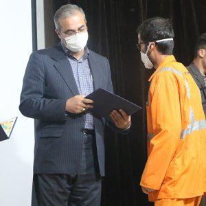 خمام - شهردار خمام : حقوق، مزایا و مطالبات سال ۹۸ کارگران و پرسنل شهرداری پرداخت شده است