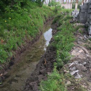 خمام - رفع تصرف حریم نهر آب در روستای مصردشت