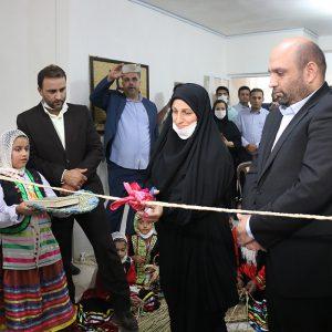 خمام - خانه حصیر روستای ملی فشتکه افتتاح شد