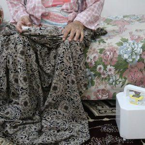 خمام - سقف بالای سر یک سالمند، در گرو پرداخت هزینههای درمانی