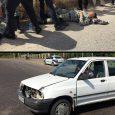 تصادف موتورسیکلت و پراید ۲ مصدوم برجای گذاشت