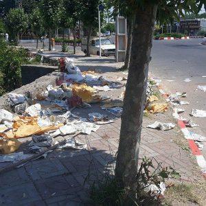 خمام - نیمنگاهی به وضعیت مکان جدید بازار هفتگی