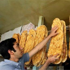 خمام - افزایش قیمت نان در خمام متوقف شد