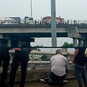 خمام - خودکشی دختر نوجوان از روی پل غیرهمسطح نافرجام ماند