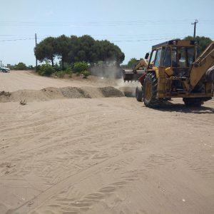 خمام - مسیرهای ورودی ساحل جفرود بالا مسدود شد