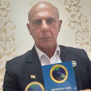 خمام - عباس کاظمی بهعنوان داور بینالمللی پاورلیفتینگ و رییس کمیته داوران انجمن راو پاورلیفتینگ منصوب شد